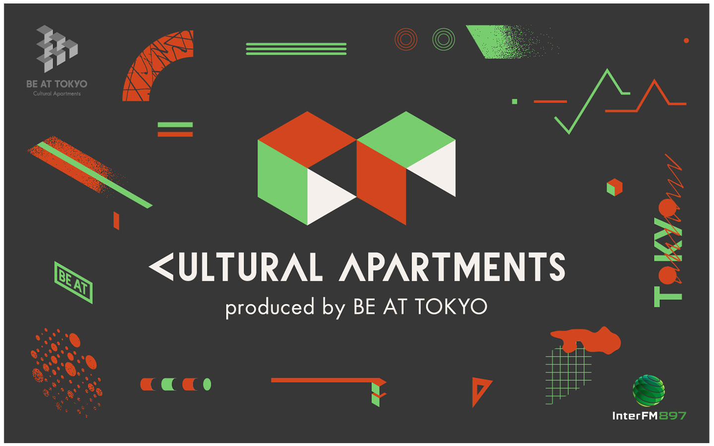 Cultural Apartments produced by BE AT TOKYO